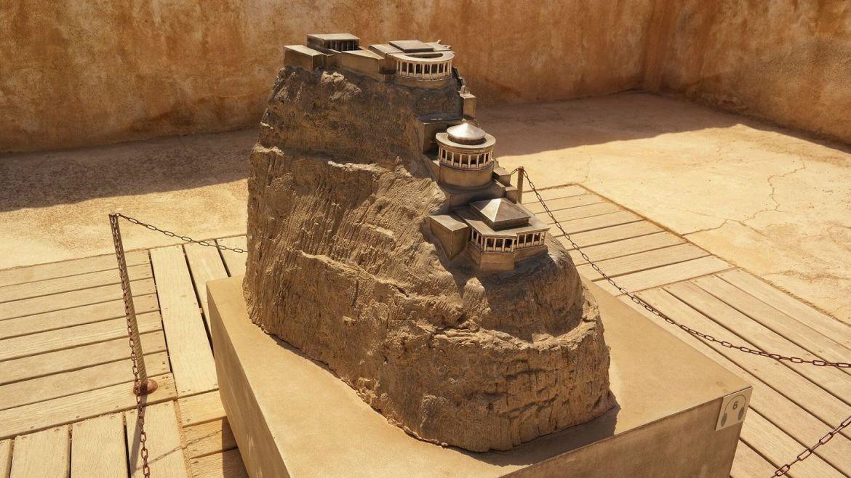 Masada makieta Izrael