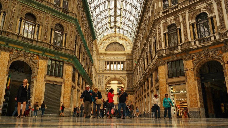 Neapol Galeria Umberto I 2