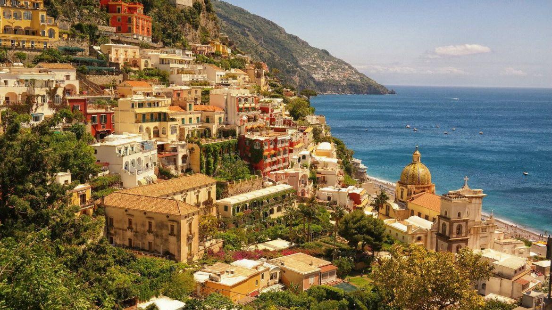 Positano Włochy Panorama