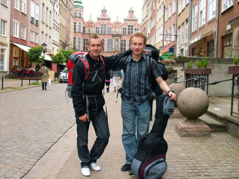 W Gdańsku przed podrożą do Szwecji