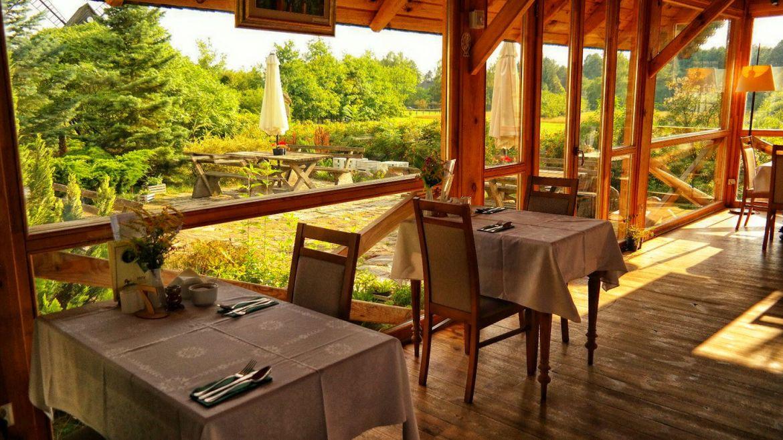Część restauracji w Bielonym dworku