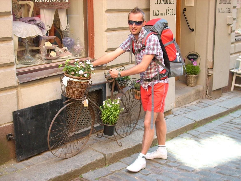 co zwiedzić w Sztokholmie rower