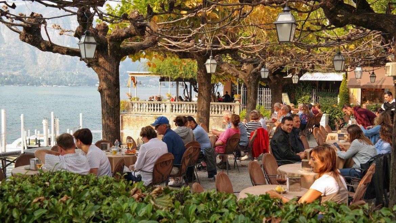 Bellagio restauracja Włochy