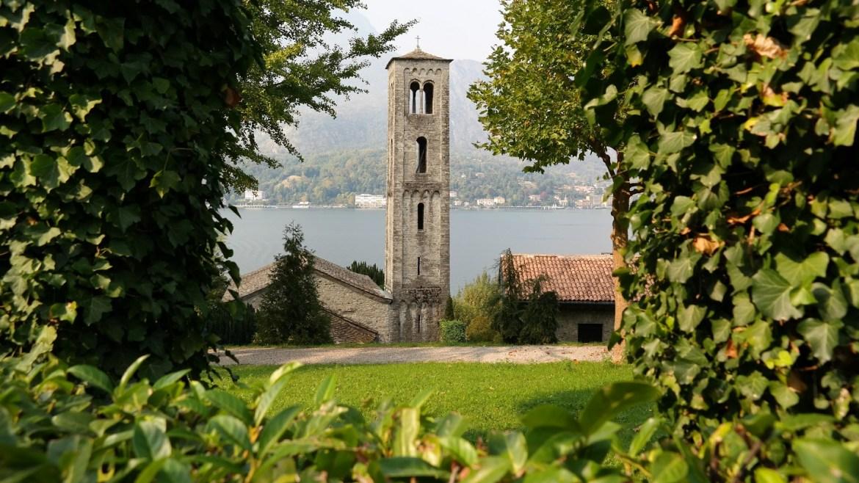 Chiesa Santa Maria di Loppia Bellagio Włochy