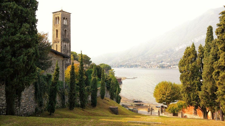 Chiesa Santa Maria di Loppia Wlochy lecco varenna bellagio