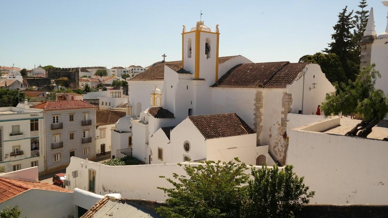 Tavira Algarve Portugalia kościół