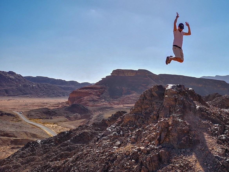 Timna Park eilat okolice panorama pustynia negev izrael
