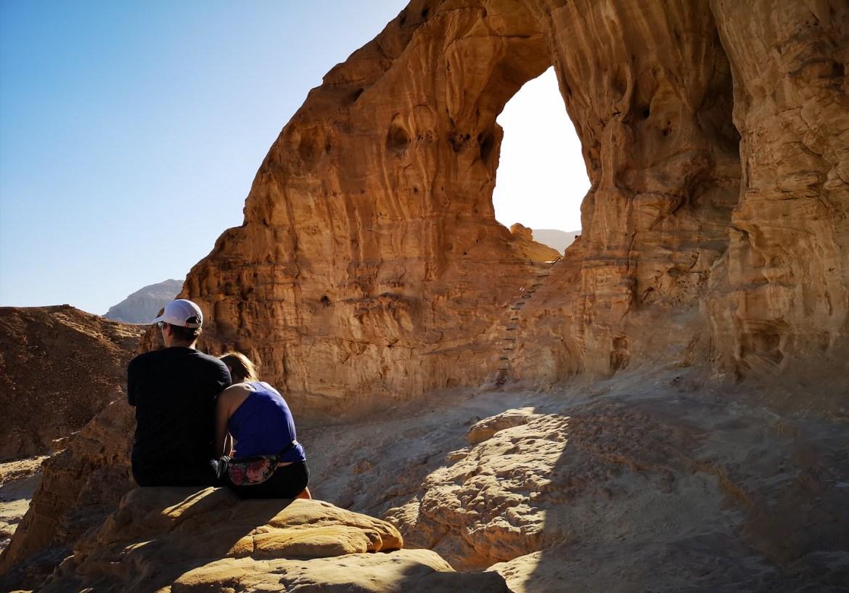 Timna Park pustynia Negev zwiedzanie Eilat i okolice