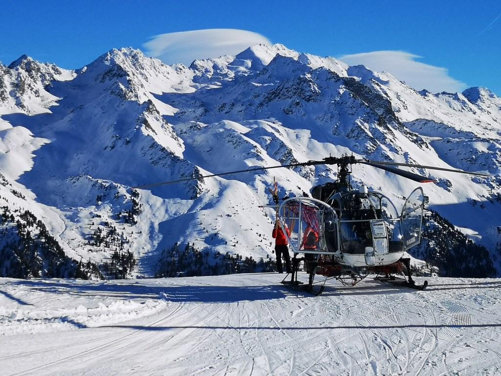 Heliski Nendaz Szwajcaria swiss onefun narty deska snowboard 4 doliny 4 valles