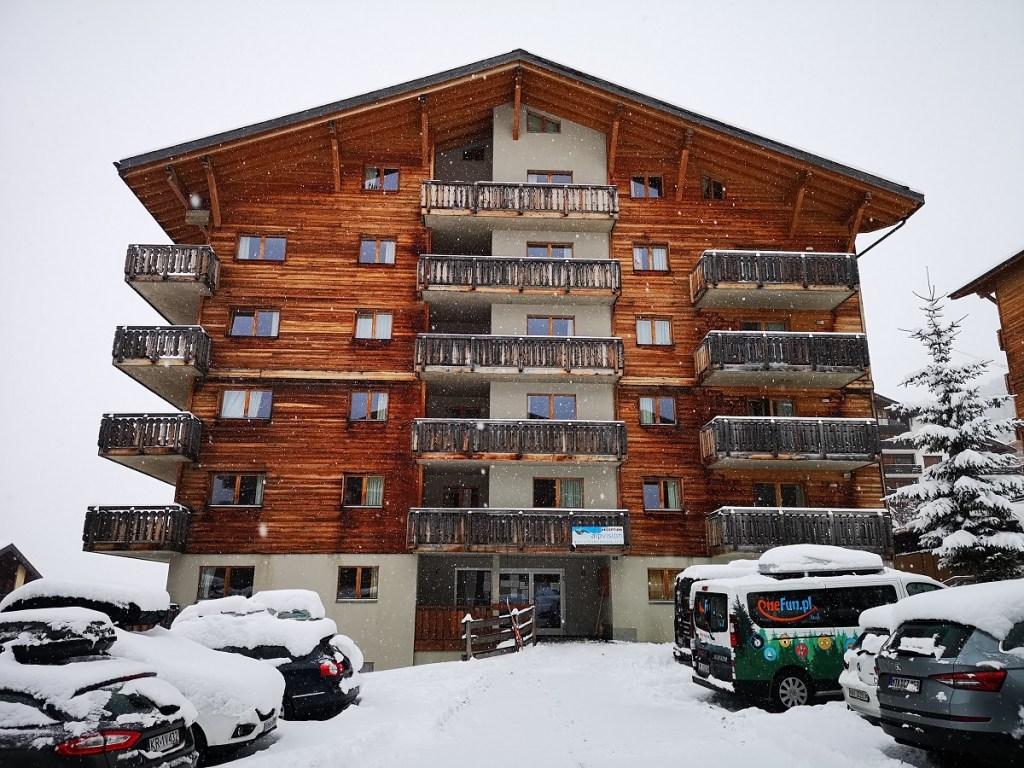 Nendaz AlpVision Szwajcaria apartamenty Narty 4 valles