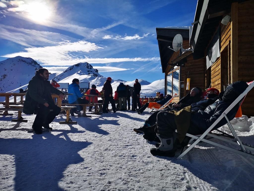 leżaki stok nendaz 4 valles 4 doliny szwajcaria sivies