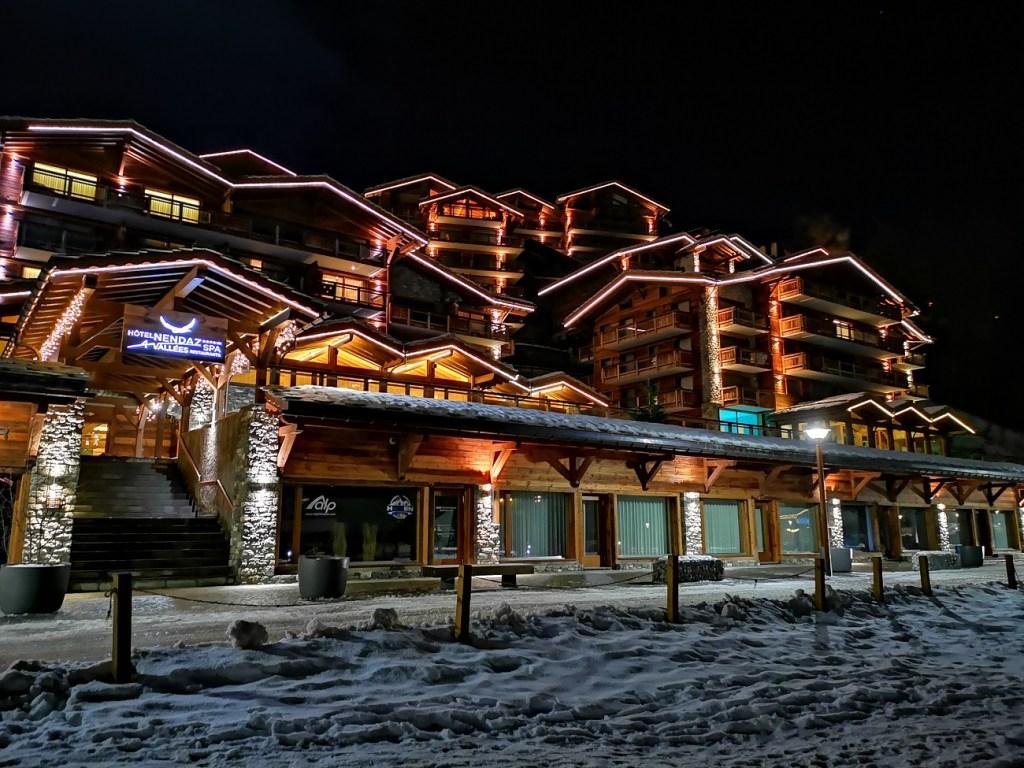 nendaz hotel 4 vallees szwajcaria