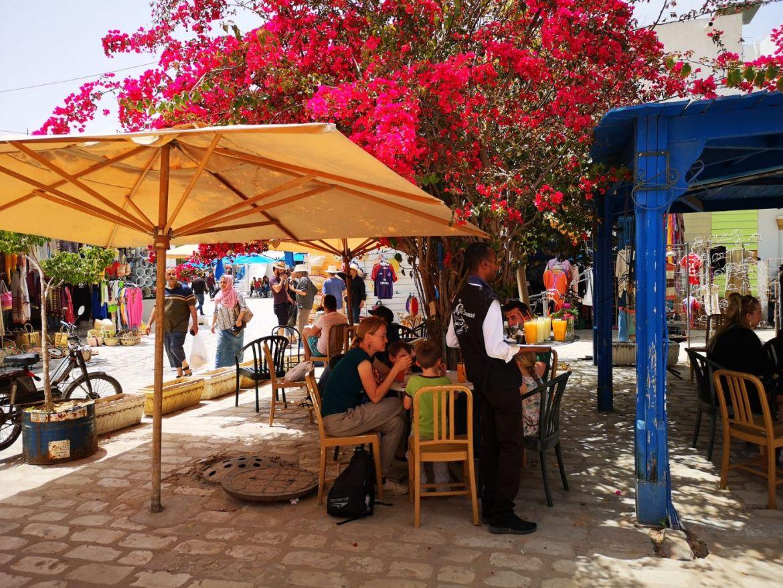 Houmt Suk stolica Djerba Tunezja