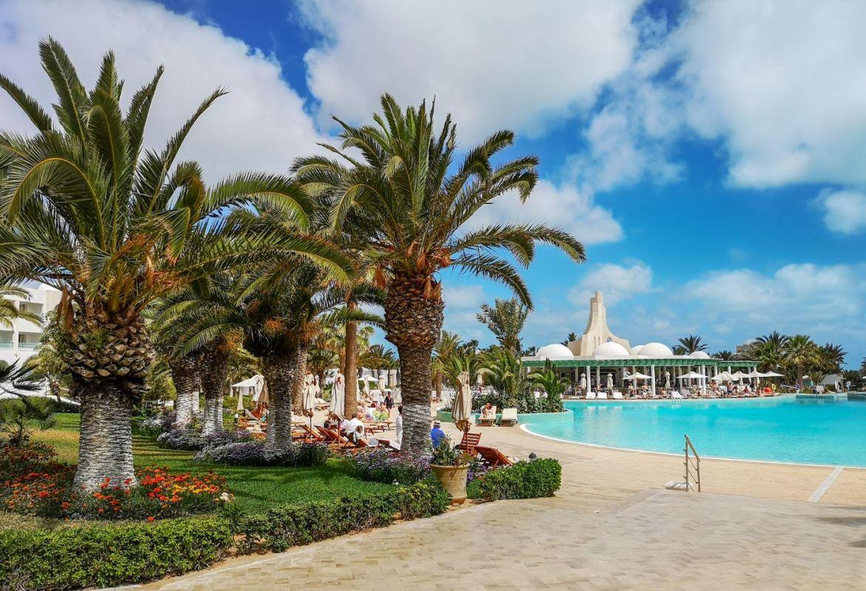 Royal Palace Hotel Djerba besen palmy