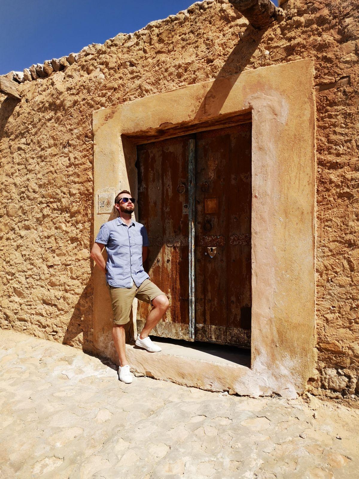 chebika miasteczko tunezja drzwi tunezja