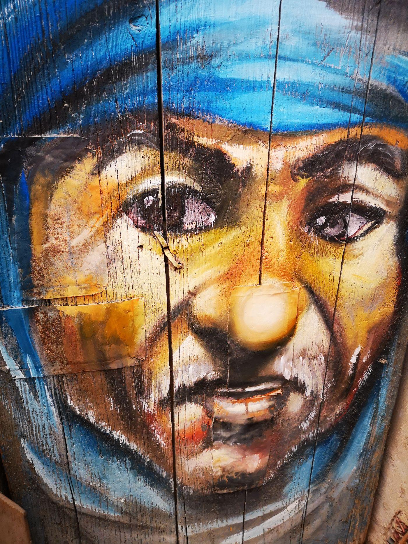 dar jilani artysta malarz recykling