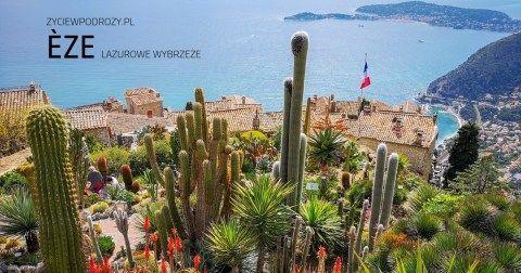 eze-lazurowe-wybrzeże-co-zwiedzić-co-zobaczyć życie w podróży blog podróżniczy