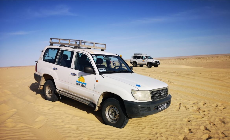 jeep safari pustynia sahara tunezja