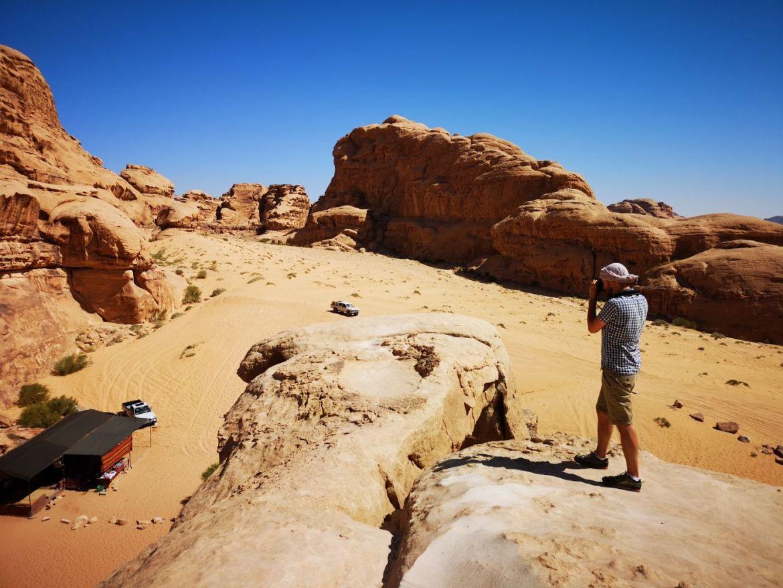 Umm Fruth Rock Arch / Duży Łukwadi rum pustynia zwiedzanie koszty wycieczka jeepem jordania co zobaczyć 2