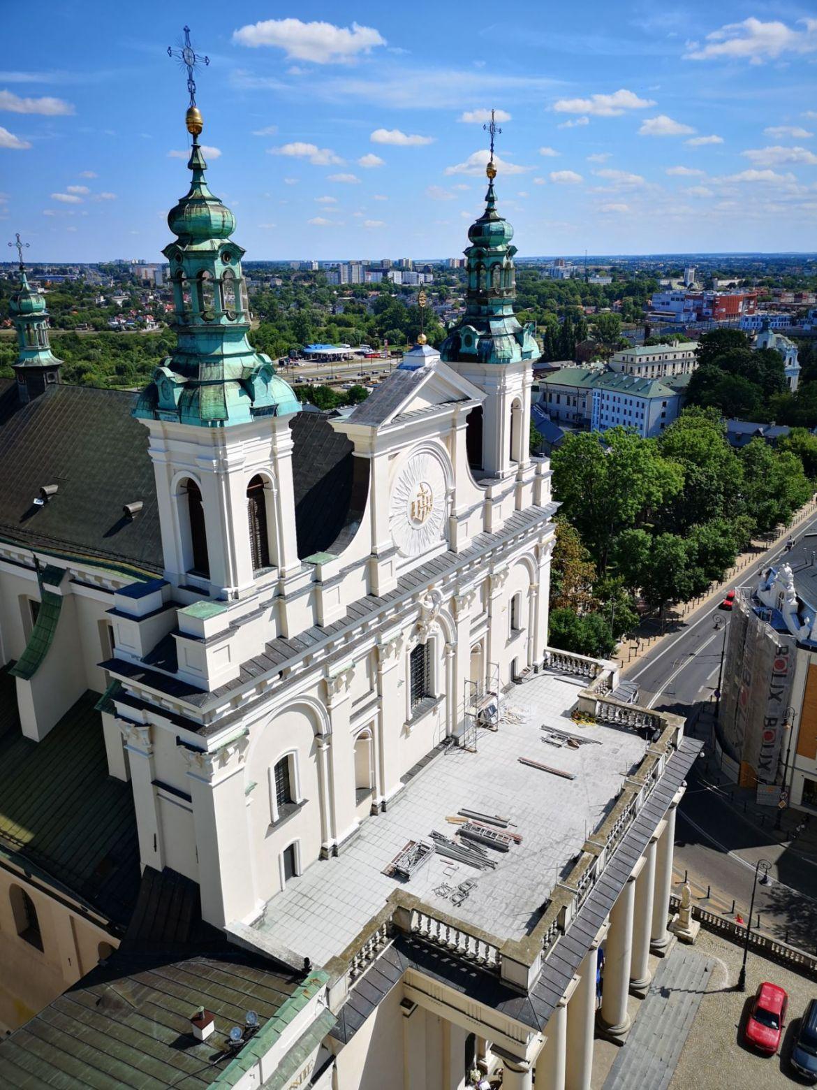 archikaterda lubelska z wieży trynitarskiej panorama