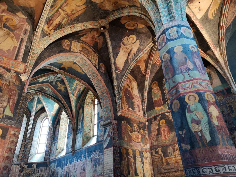 kaplica trójcy świętej w lublinie dziedziniec zamku lubelskiego freski wnętrze kaplicy