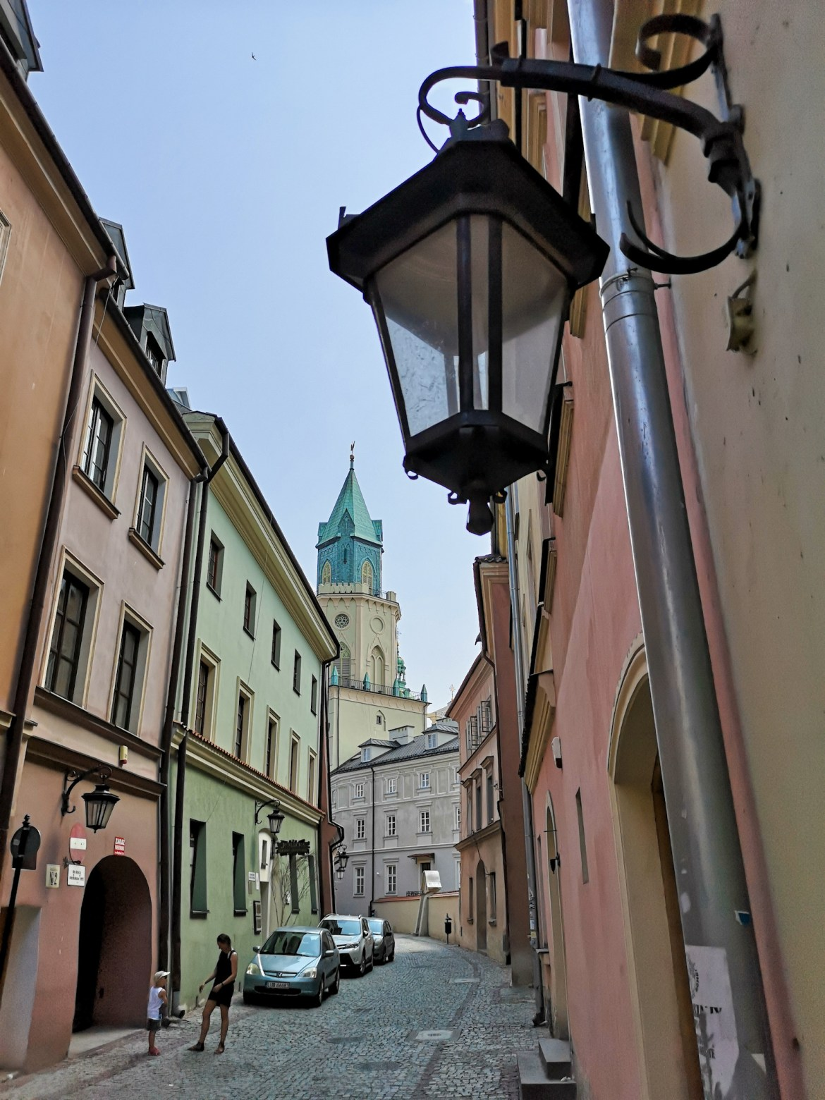 lublin stare miasto wieża trynitarska latarnia