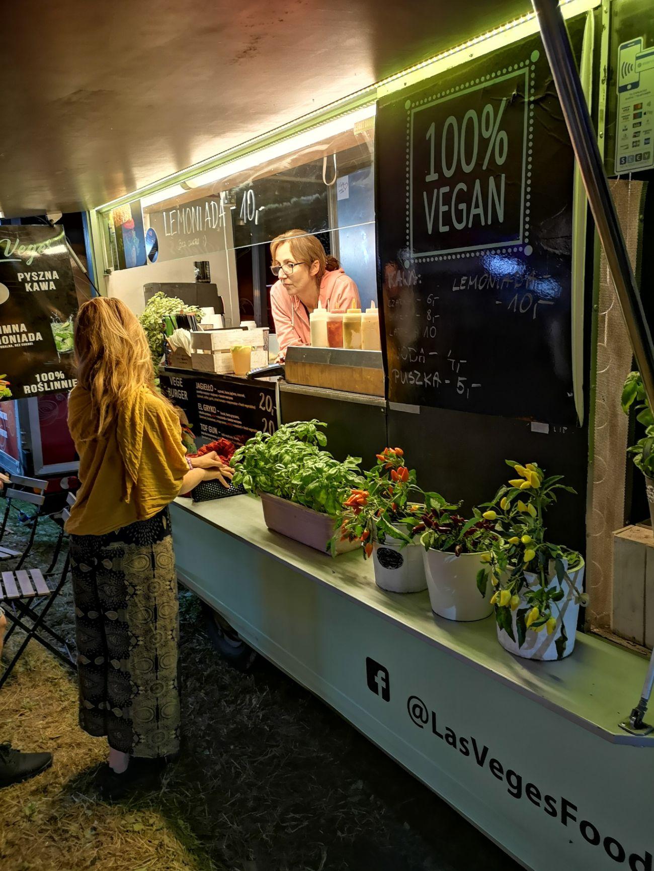 wegańskie jedzenie pannonica festiwal foodtracki