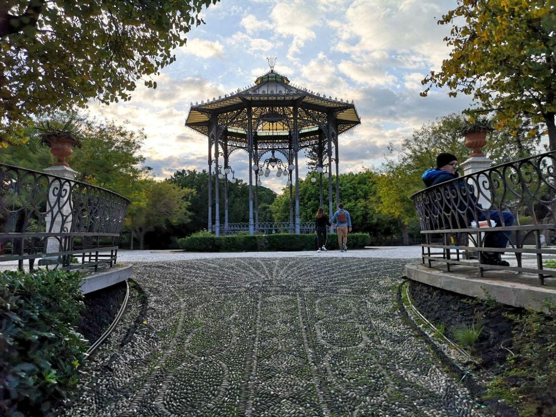 Park Villa Bellini pergola katania zwiedzanie