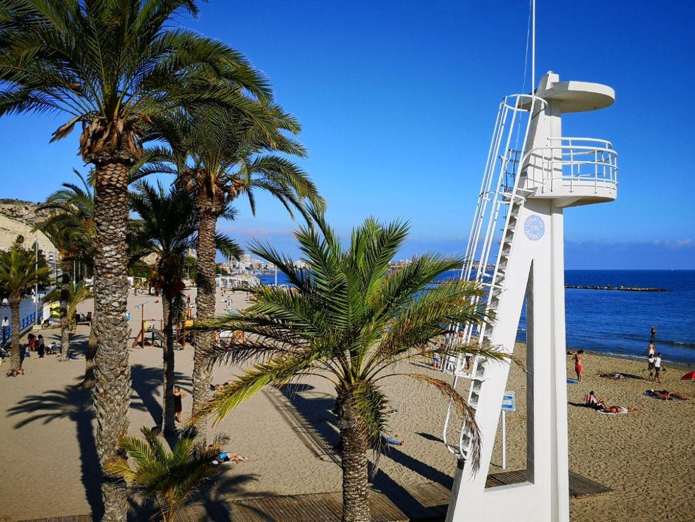 Playa del Postiguet plaża katania hiszpania