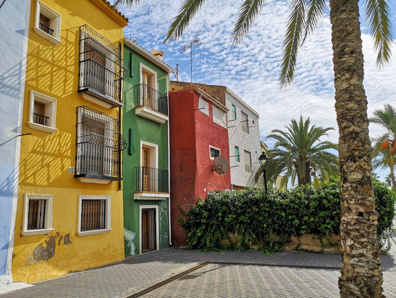 Villajoyosa costa blanca hiszpania
