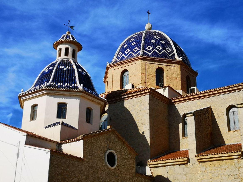 altea kościół costa blanca zwiedzanie