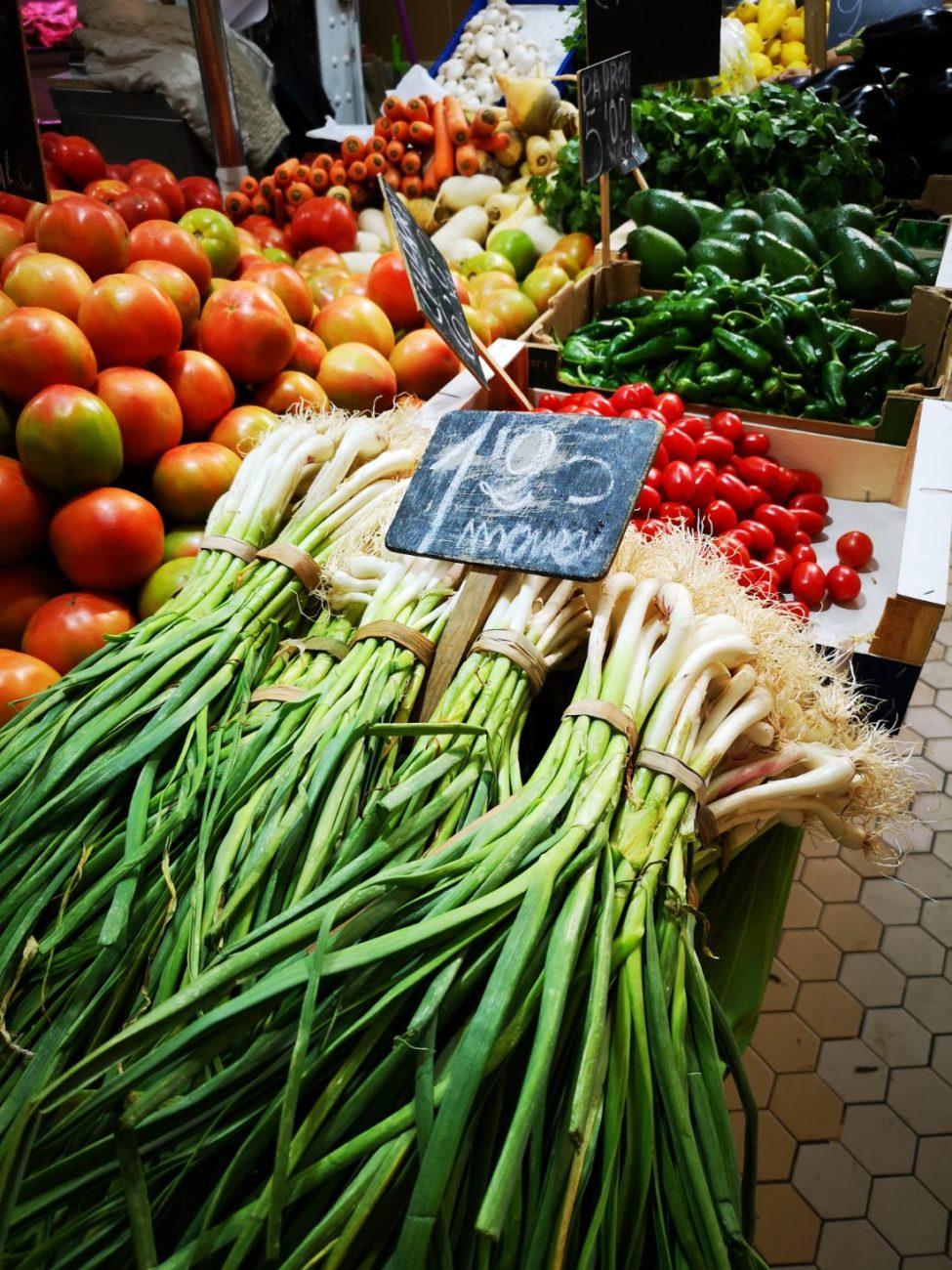 targ główny walencja zakupy warzywa