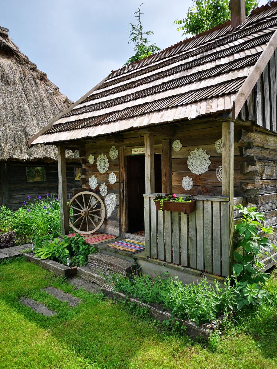 domek ziołowy
