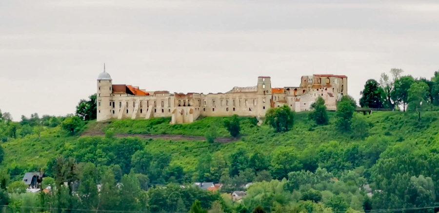 panorama zamek w janowcu lubelskie