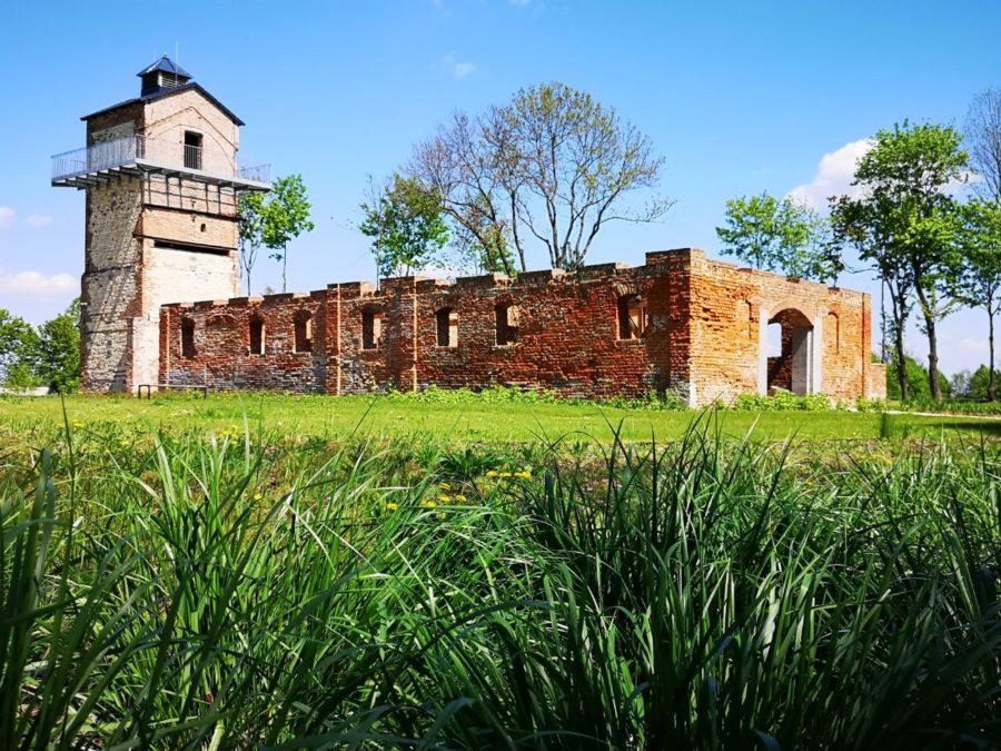 podzamcze lubelskie lubelszczyzna wieża zwiedzanie