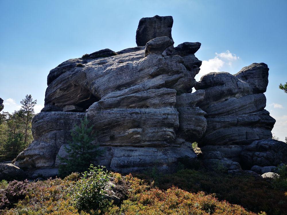 szczelinie wielki trasa turystyczna zwiedzanie ziemia kłodzka dolny śląsk travel blog podróżniczy formacje skalne
