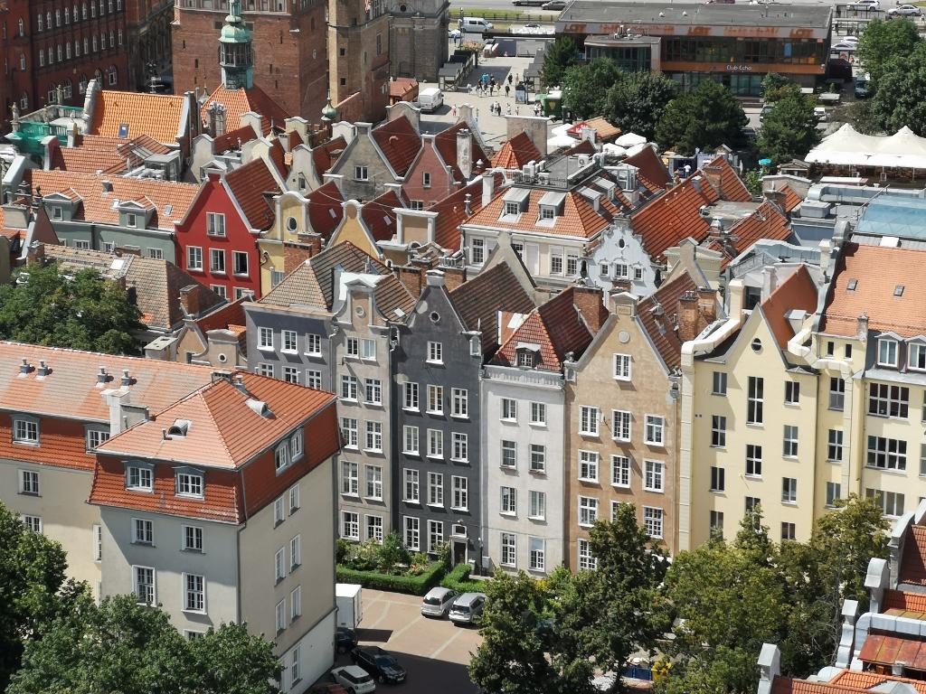 kamienice główne miasto gdańsk zwiedzanie weekend