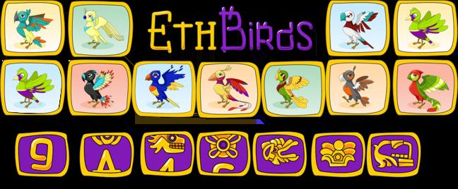 ETH Birds — first cryptogames multi-level reward system!
