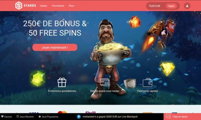 Stakes Casino Reviews 2018: Online Casino