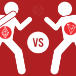"The Battle For Supremacy Hits Twitter: Vitalik Buterin Vs. Justin Sun - TRX vs. ETH The rivalry between ETH founder Vitalik Buterin and TRON founder, Justin Sun was recently renewed on Twitter with both blockchain developers talking down on each other's protocol. Perhaps uninterestingly, the latest outburst has come at a time when the TRON project has been performing so well and Ethereum well on the back foot. So it makes the rivalry a little less than a hash war, but one that could go on spur improvement by the men. Vitalik Buterin Vs. Justin Sun In A Twitter Rumble The latest outburst began with Justin Sun tweeting a link to an article where the ETH founder remarked that the ""the next wave in crypto will not be based on a hype."" Sun suggested that the above statement only meant that ETH led the altcoin race last year because of hype and declared that TRX will lead the next bull run built on massive adoption DApps and BitTorrent. Whether the tweet was meant to irk Vitalik was a question that got an answer in only a short time. Buterin questioned Justin Sun and TRX's legitimacy by tweeting, ""anyone who puts a dollar sign followed by a ticker symbol in their tweet is basically a self-identified shill and not worth listening to."" What came next was a slight shocker. Justin Sun bragged about the recent TRX milestone where the scaling protocol used on TRON hit nearly 2 million transactions per day. Sun also looked to put one over Vitalik and ETH by saying that their network would never be that scalable. He tweeted, ""We can talk about the dollar sign after the day ETH reaches 2 million Txs per day, which I think will never happen."" Vitalik did not give a reply. The Scalability Issue - TRON Trumping ETH While the TRON blockchain has been pulling off some stunts (1,841,055 transactions per day), the Ethereum blockchain has continued to lag. Etherscan data at press time shows that more than 94000 transactions are pending during key times on the Ethereum Blockchain. So it is obvious that Vitalik and his developers have more work to do rather than engage in Twitter fights. In all, we do hope that the outburst leads to improvements on the various blockchains and serve the greater good of the ecosystem."