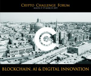 Press Release CC Forum Malta Blockchain, AI and Digital Innovation CC Forum is one of the world's major industry events. It will take place on 17-19 March 2019 in Malta connecting global thought leaders, policy makers, investors and startups from across the world for a 3 day top content event. It will be attended by the industry leaders, think tanks, institutional and private investors, family offices and VC firms. The Forum's highlights include: 2500+ attendees 100+ influential speakers 20+ participants of the Investors' Hub 50+ exhibititors To be inaugurated by Hon. Prime Minister, the forum is privileged to have some of the world's most authoritative speakers, some of whom are global transformers: http://www.cc-forum.com/speakers/ Split across three tracks, the Forum's agenda will address a wide range of issues including Blockchain and Foreign Direct Investment, the Future of Digital Investment and the Regulatory Framework of the Blockchain & Crypto Space. Part of the Forum's programme are one-to-one duels where heavyweights will engage in heated public debates on the big issues of the space with the conference audience being interactively involved. The Forum will see an unprecedented agenda «The World's Ecosystems and Crypto Investment» where a whole track will be given to crypto friendly governments who will be showcasing their ecosystems and highlighting their blockchain initiatives. Global announcements are expected to be made. A distinctive feature of CC Forum is the Investors' Hub – an exclusive networking area where the brightest startups will have access to decision makers representing participating investment funds, VC firms and family offices, with a total of 70B USD under management. An ICO contest with 100K prize pool to be distributed in three prizes will be held alongside the two day exhibition in the Hall's lobby. Last, but not least, the Forum abounds in a rich networking programme ranging from postconference receptions to private VIP retreats. It