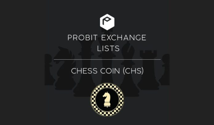 Probit Exchange Onboards Chess Coin to Drive Growth in P2P Finance Sector
