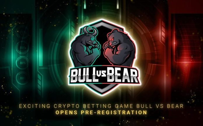 Bitcoin Betting App, Bull Vs Bear, Open for Pre-Registration