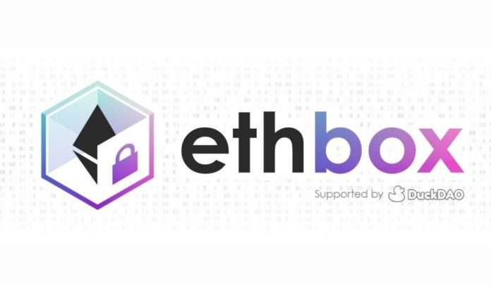 Crypto Transfers Security Ramped up with ethbox IDO