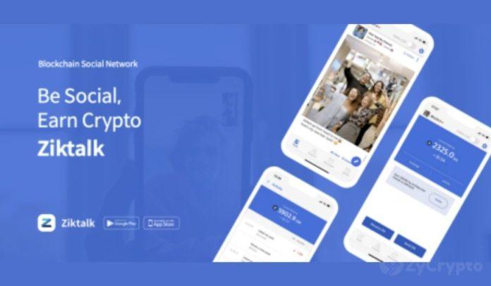 Social media app Ziktalk records 3 million total transactions