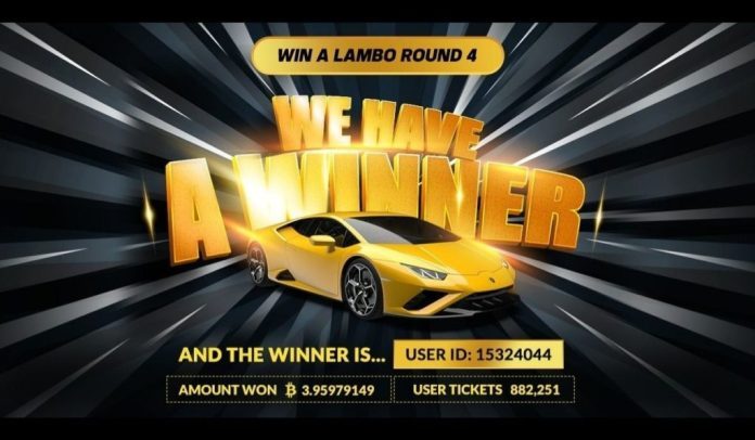 "A Golden Opportunity To Win A ""Crypto"" Lamborghini In 2021"
