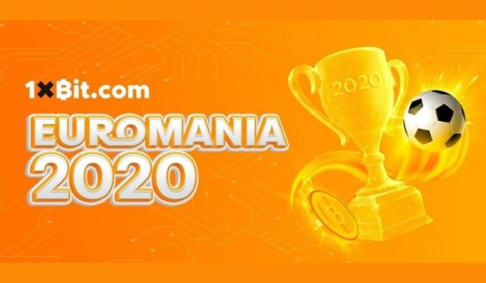 1xbit Offering Prizes Worth Over 3 BTC in A Special Euro 2020 Lottery