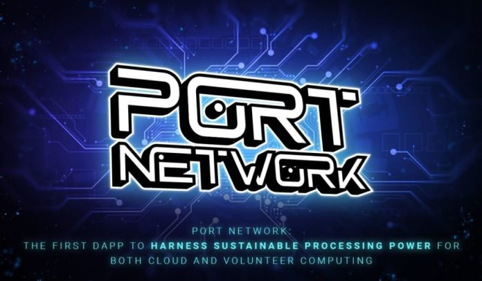 PORT Network: The First DApp to Harness Sustainable Processing Power for Both Cloud and Volunteer Computing