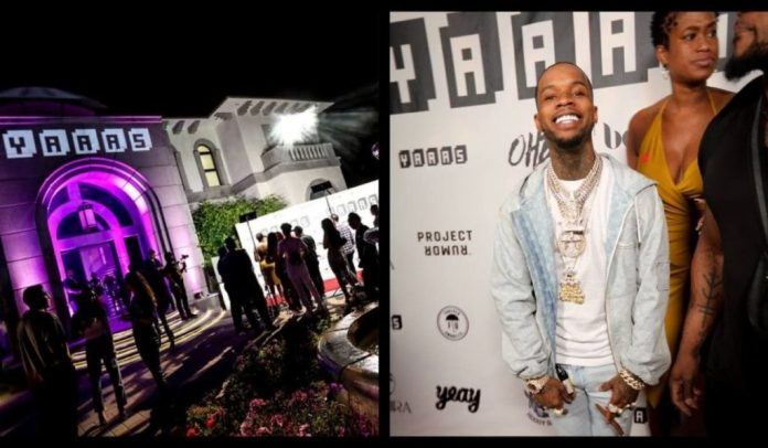 Rappers And Influencers Embrace NFTs At Tory Lanez BET After Party, Hosted By YAAAS