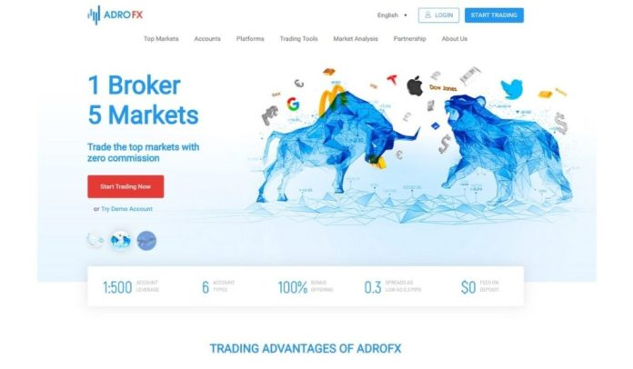 Forex Broker AdroFx (TM) Roars into the Market with Power